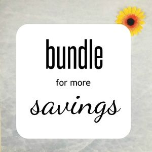 bundle for the most savings